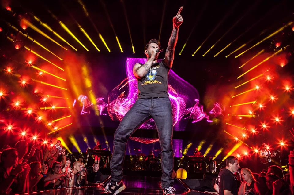 Lighting Maroon 5 (With Matt Guminski and Philip Hodgetts)