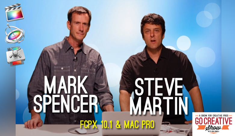 FCPX-mas (With Mark Spencer and Steve Martin)