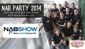 NAB Party 2014 (with Dan Chung and Matt Allard) GCS029