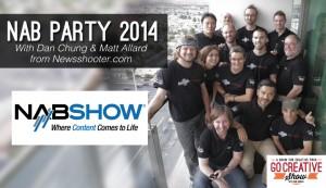 NAB Party 2014 (with Dan Chung and Matt Allard) GCS029