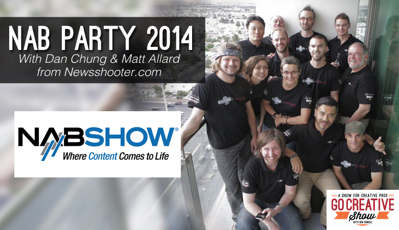 NAB Party 2014 (with Dan Chung and Matt Allard)