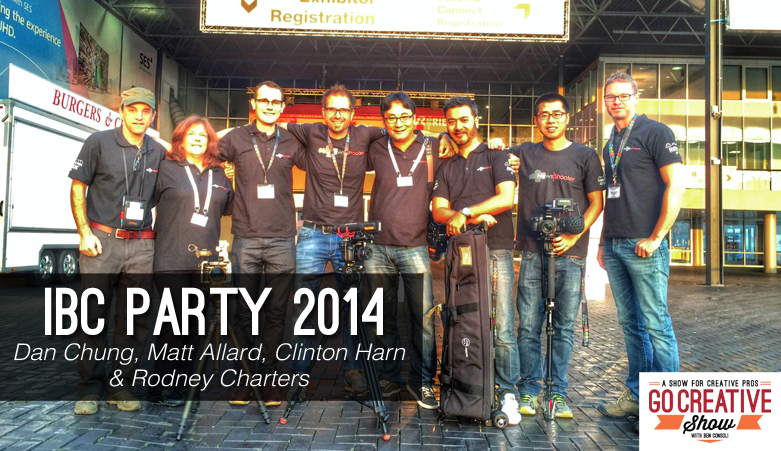 IBC Party 2014 (With Rodney Charters, Dan Chung, Matt Allard and Clinton Harn)