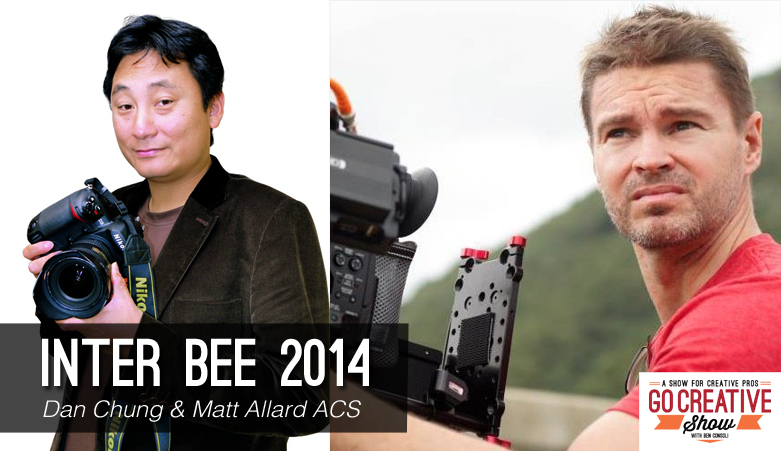 Inter BEE 2014 (with Dan Chung and Matt Allard)