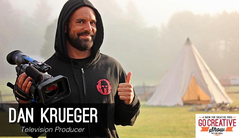 Dan Krueger producer for xploration outer space on go creative show