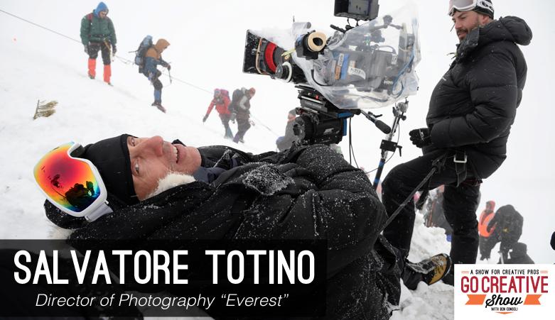 Salvatore Totino on Go Creative Show