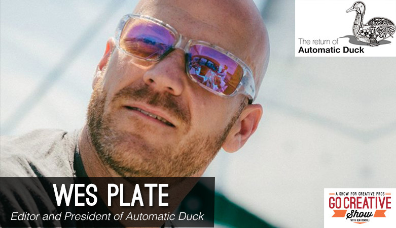 Wes Plate from Automatic Duck on Go Creative Show