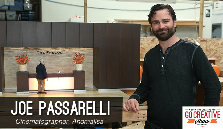Joe Passarelli cinematographer of Anomalisa