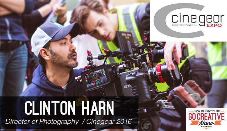 Clinton Harn on Go Creative Show with Ben Consoli