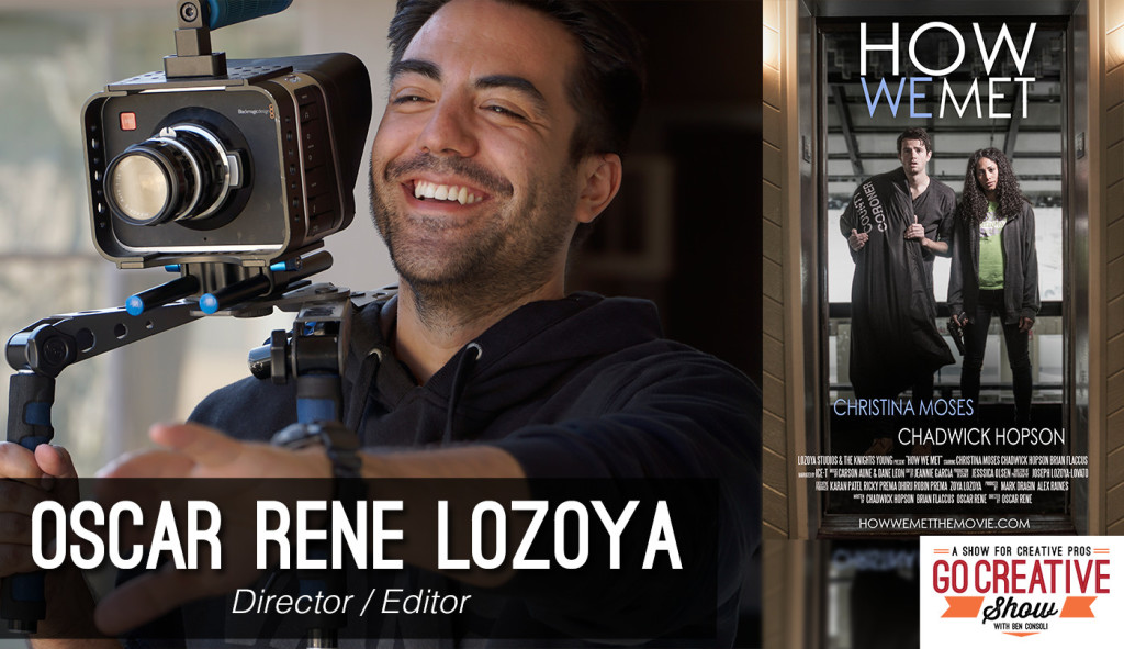 Oscar Rene Lozoya on Go Creative Show Podcast
