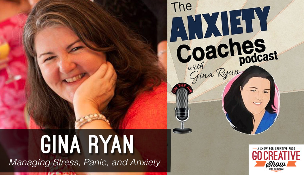 Anxiety Coach Gina Ryan on Go Creative Show