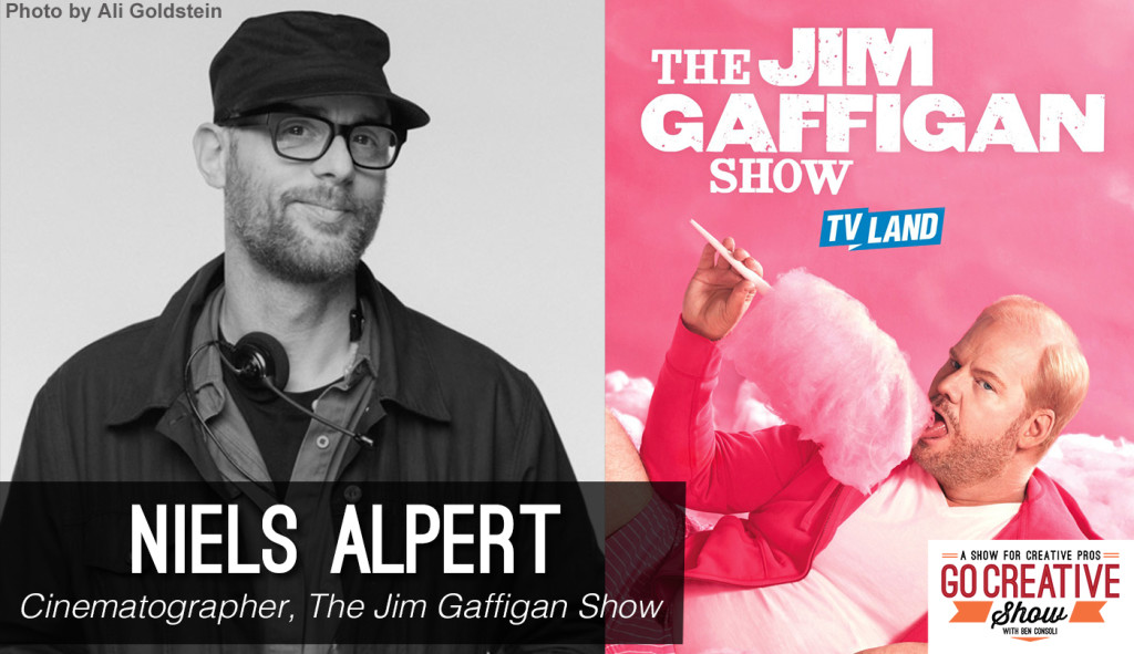 Cinematographer Niels Alpert from The Jim Gaffigan Show