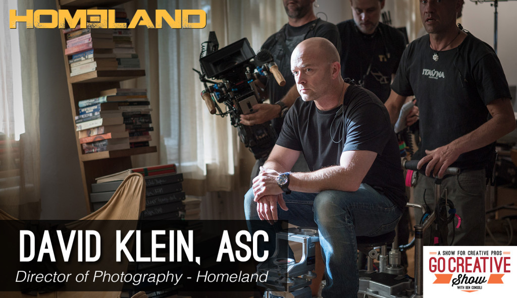 Cinematographer David Klein on Go Creative Show