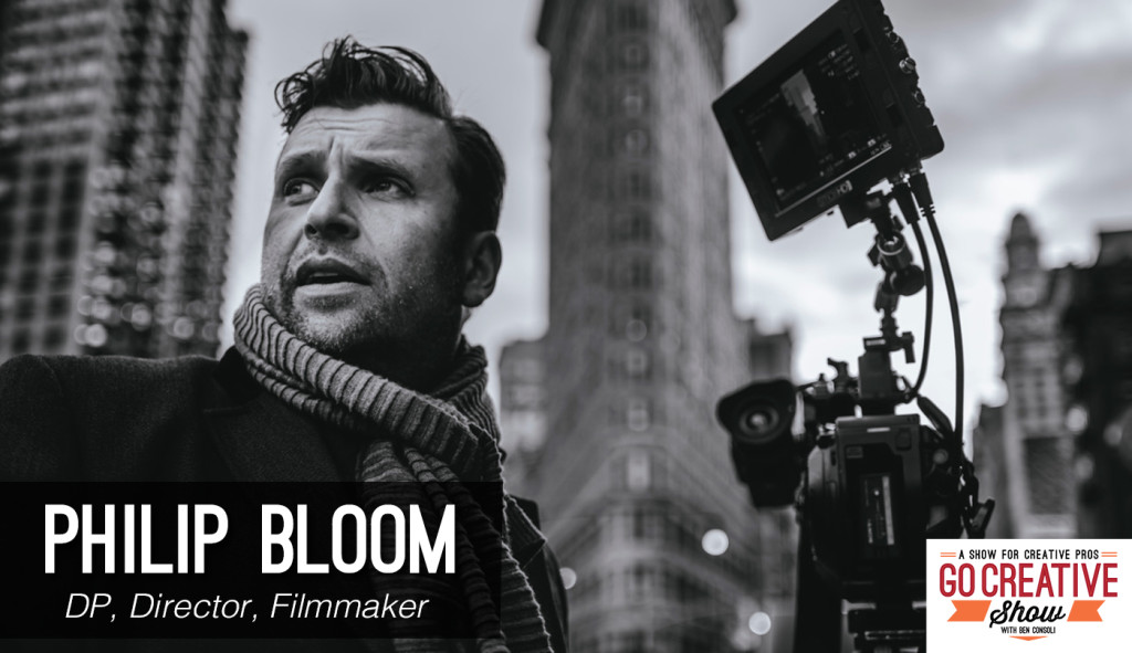 Filmmaker Philip Bloom on Go Creative Show