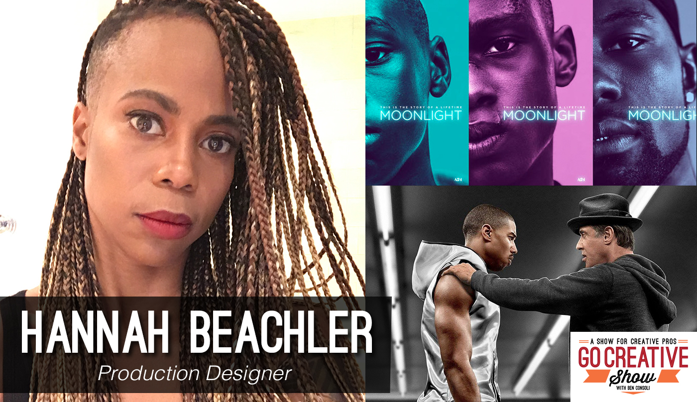 Hannah Beacher Production Designer on Go Creative Show