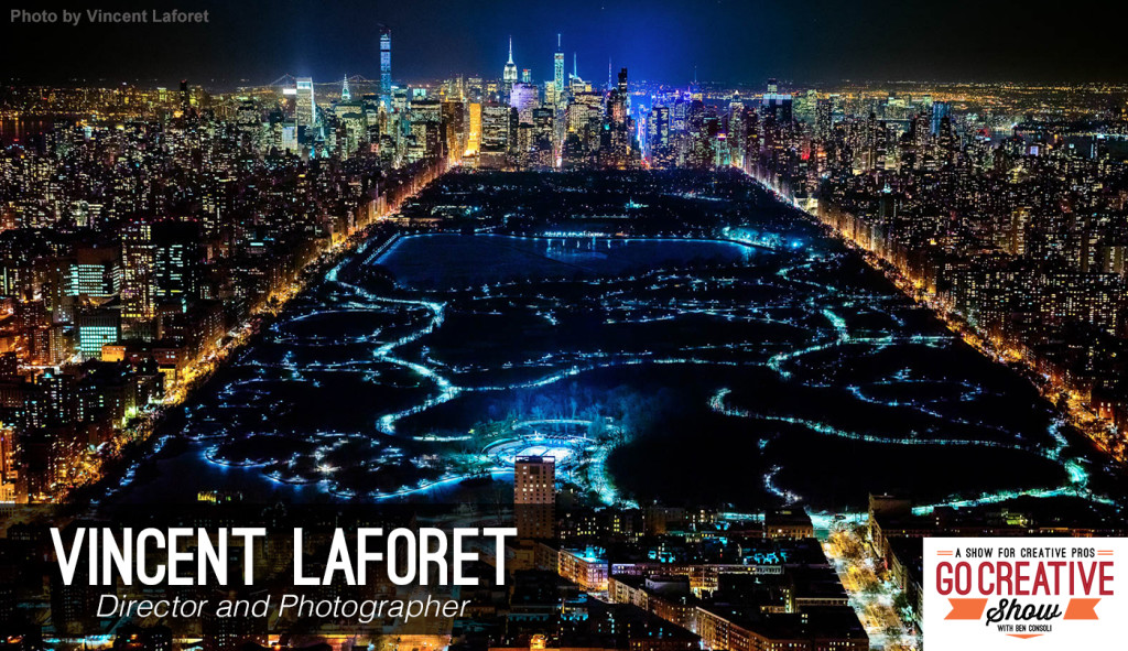 Director and Photographer Vincent Laforet on Go Creative Show
