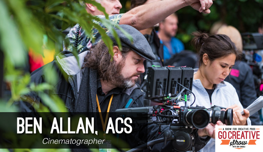 Ben Allan ACS joins director and Go Creative Show host Ben Consoli